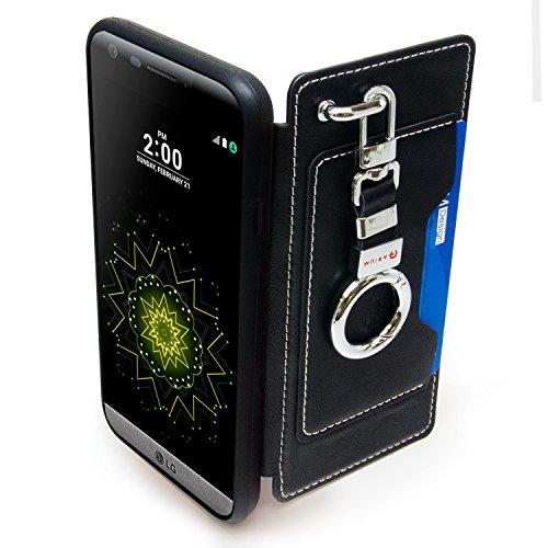 official photos 08f1b f315c LG G5 Case, Arium [Clutch] Premium Wallet [Black] [Pocket - Import ...
