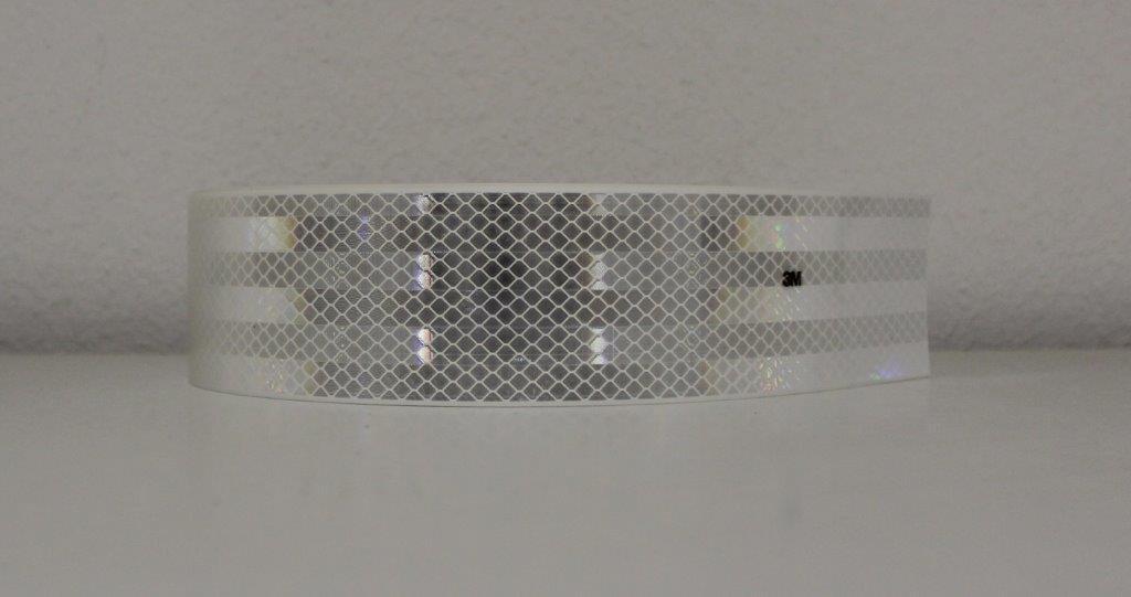x 50mm 3M™ Industrie Warnmarkierung 823i RA2 Reflexfolie selbstklebend lfm
