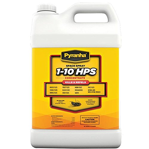 Pyranha 068025 Space Spray 1-10 hp Insecticide for 30 gallon System ()