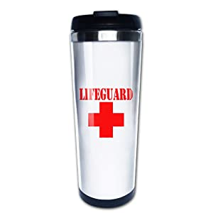 Best Simple Lifeguard Wordmark Logo Cool Coffee Or Tea Mugs