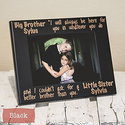 Amazon.com: Siblings Picture Frame-Personalized Brother Or Sister ...
