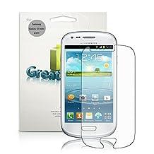GreatShield Ultra Anti-Glare (Matte) Clear Screen Protector Film for Samsung Galaxy S3 S III mini / GT-I8190 (3 Pack) - Lifetime Warranty