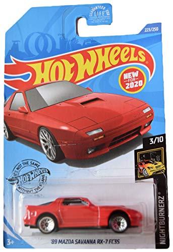 DieCast Hotwheels '89 Mazda Savanna RX 7 FC3S 223/250, red