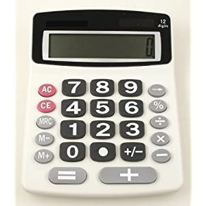 Lily's Home® Jumbo 12-Digit Desktop Calculator