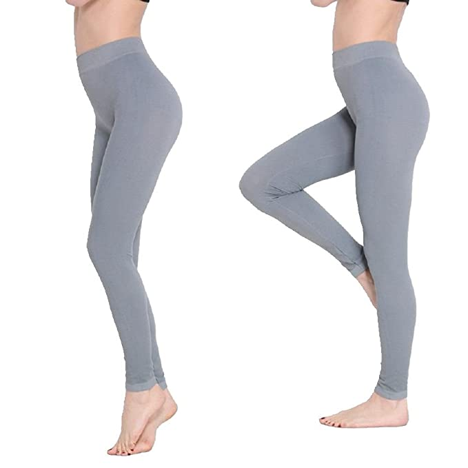 261acdd77c6 Image Unavailable. Image not available for. Color  Magic Size Thin Elastic  Leggings Fitness Women ...