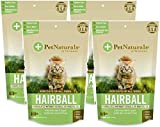 Product review for (4 Pack) Pet Naturals of VT Hairball Supplements for Cats