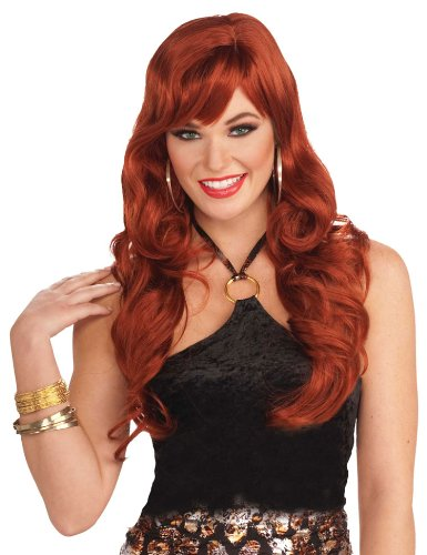 Red Carpet Starlet Costume (Red Delicious Wig - Adult Std.)