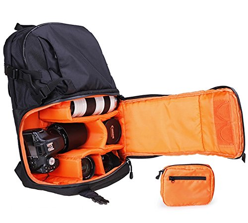 Cheerwing Travel Camera Backpack Bag Case for D...