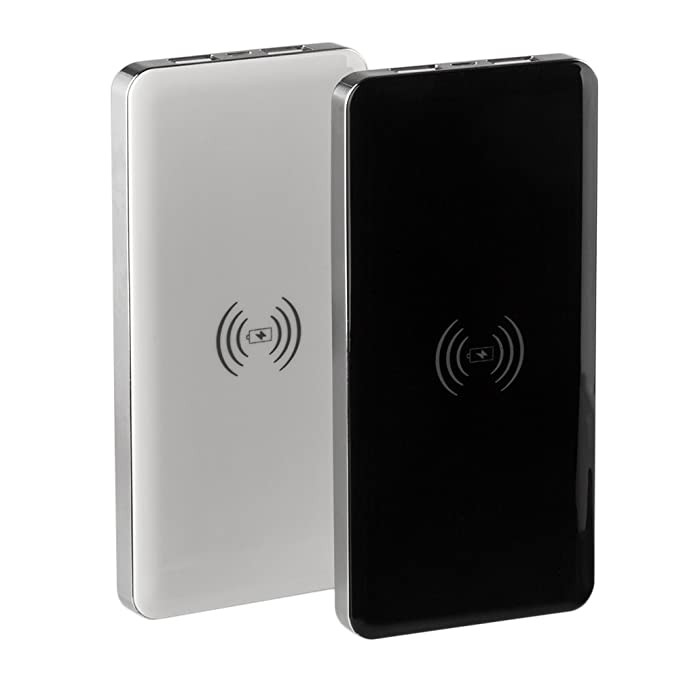 jooswin portátil Qi cargador inalámbrico 10000 mAh Banco de ...