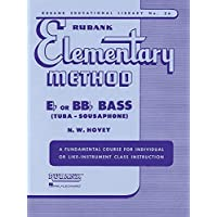 Rubank Elementary Method - Bass/Tuba (B.C.) (Rubank Educational Library: Elementary Method, Band 36)