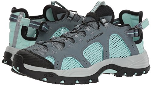 Salomon Women's Techamphibian 3 W Trail Running Shoe, Stormy Weather, 8 M US by Salomon (Image #5)