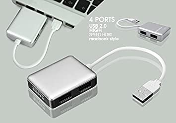 246114af7b6 Image Unavailable. Image not available for. Colour: higadget™ High Speed 4 Ports  USB Hub 2.0 ...