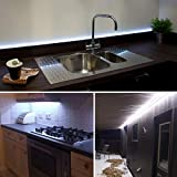 White LED Strip Lights, GuoTong Waterproof cuttable