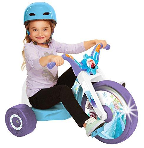 Frozen Northern Lights 15 Fly Wheel Junior Cruiser, 1 Ride-on, Ages 3-7, Purple/Blue/White, 20 W x 22.5 H x 32.83 L
