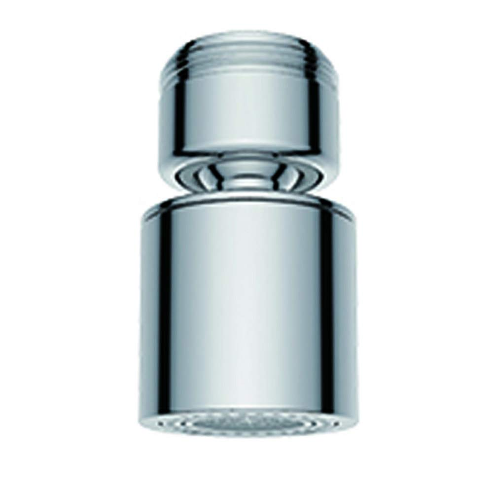 Waternymph Hibbent Dual-function 2-Flow Faucet Aerator, 360-Degree ...
