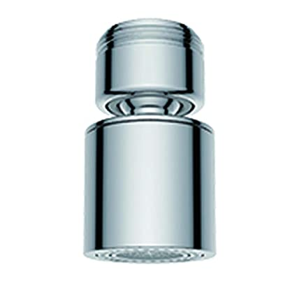 Waternymph Hibbent Dual Function 2 Flow Faucet Aerator 360 Degree