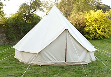 4m Bell Tent Deluxe & 4m Bell Tent Deluxe: Amazon.co.uk: Sports u0026 Outdoors