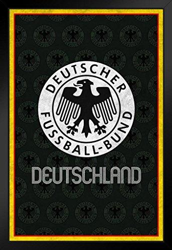 ProFrames Germany Soccer Retro National Team Sports Framed Poster 12x18