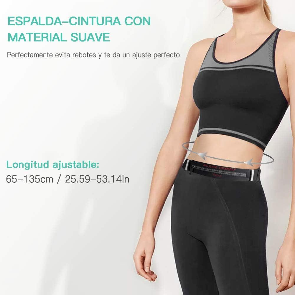 FREETOO Cinturón de Correr Riñonera Deportiva Diseño Exclusivo y ...