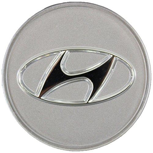 Genuine Hyundai 52960-3K210 Wheel Hub Cap Assembly, Aluminum