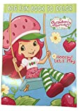 "Strawberry Shortcake Coloring Book - "" Hooray Lets Play"""