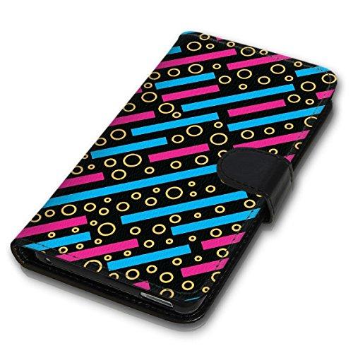 Wallet Book Style Flip Handy Tasche Case Schutz Hülle Schale Motiv Etui für Apple iPhone 4 / 4S - Design Flip MVD126