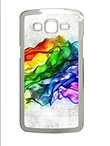 Fresh Colors PC Case Cover for Samsung Grand 2 and Samsung Grand 7106 Transparent