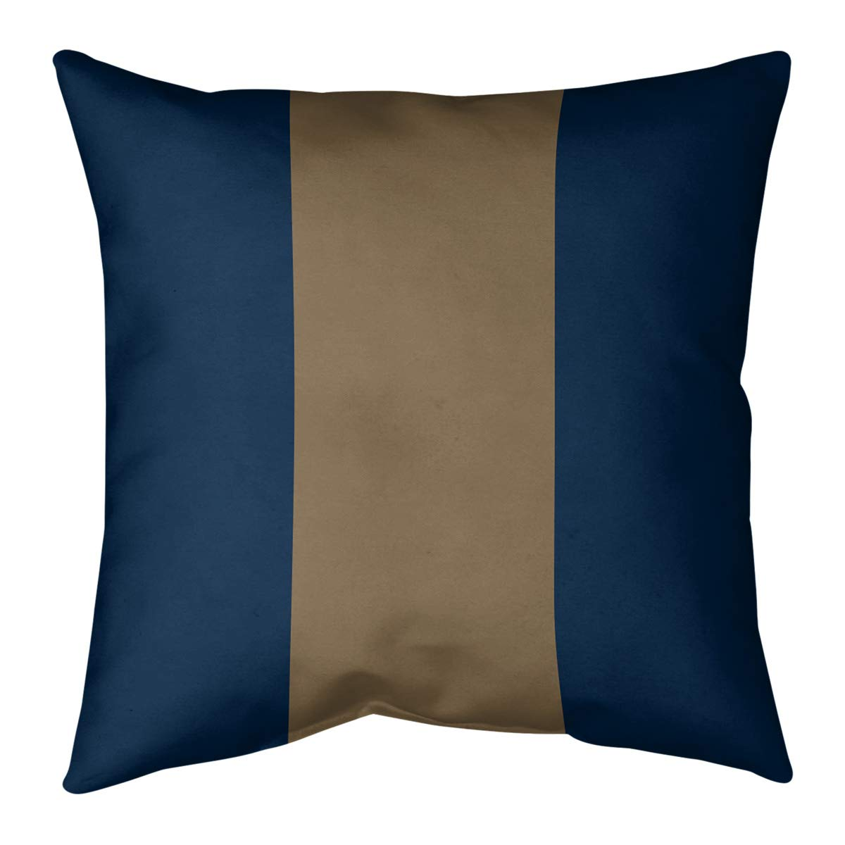 Buy Artverse Los Angeles Nfs La Horns Football Stripes Pillow Cover No Fill Poly Twill 16 X 16 Blue And Gold Online At Low Prices In India Amazon In