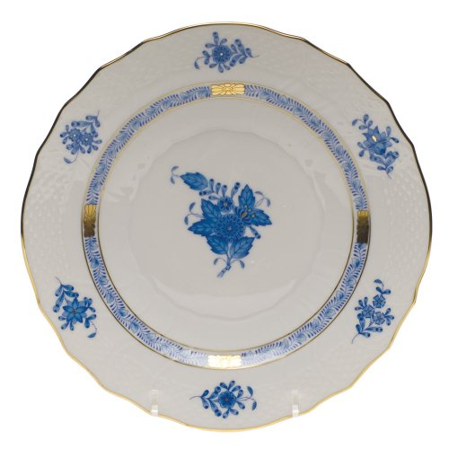 Herend Chinese Bouquet Blue Salad Plate ()