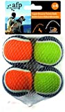 All for Paws Super Bounce Tennis Ball - 4-Pack