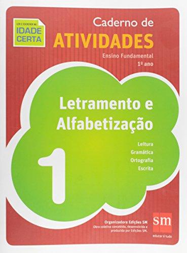 Livro: Caderno de Atividades. Letramento e Alfabetização. 1º Ano 1