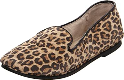 French Sole FS/NY Women's Drama,Leopard Suede,6 M US