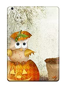 New Ipad Air Case Cover Casing(scarecrow Owls Halloween)