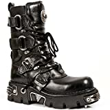 New Rock Boots Unisex Style 575 S1 Black (44)