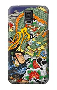 S0454 Japan Tattoo Case Cover for Samsung Galaxy S5