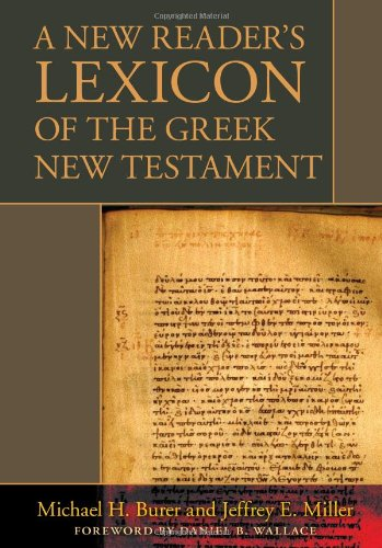 Read Online A New Reader's Lexicon of the Greek New Testament ebook