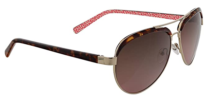 452d3fd4203ca Amazon.com  Vera Bradley Women s Etta Polarized Aviator Sunglasses ...