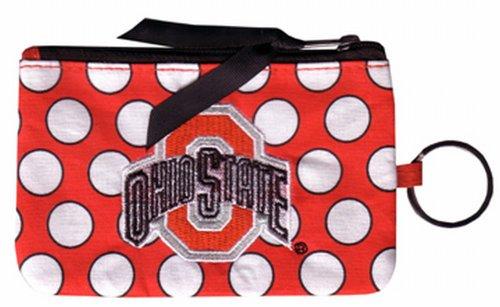 NCAA Ohio State Buckeyes Keychain Coin Purse Divided
