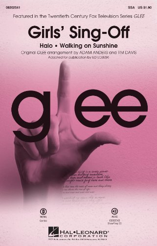 Girls' Sing-Off - from Glee - SSA Choral Sheet Music
