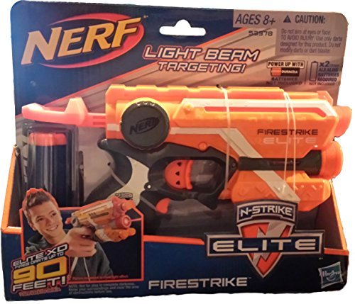 Bundle: Nerf Nstrike Elite Firestrike Blaster1 amp Pack of Nstrike Elite Darts30 Darts