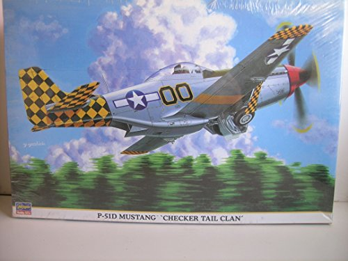 Hasegawa Models----1/32 Scale WW II P-51D Mustang--Checker for sale  Delivered anywhere in USA