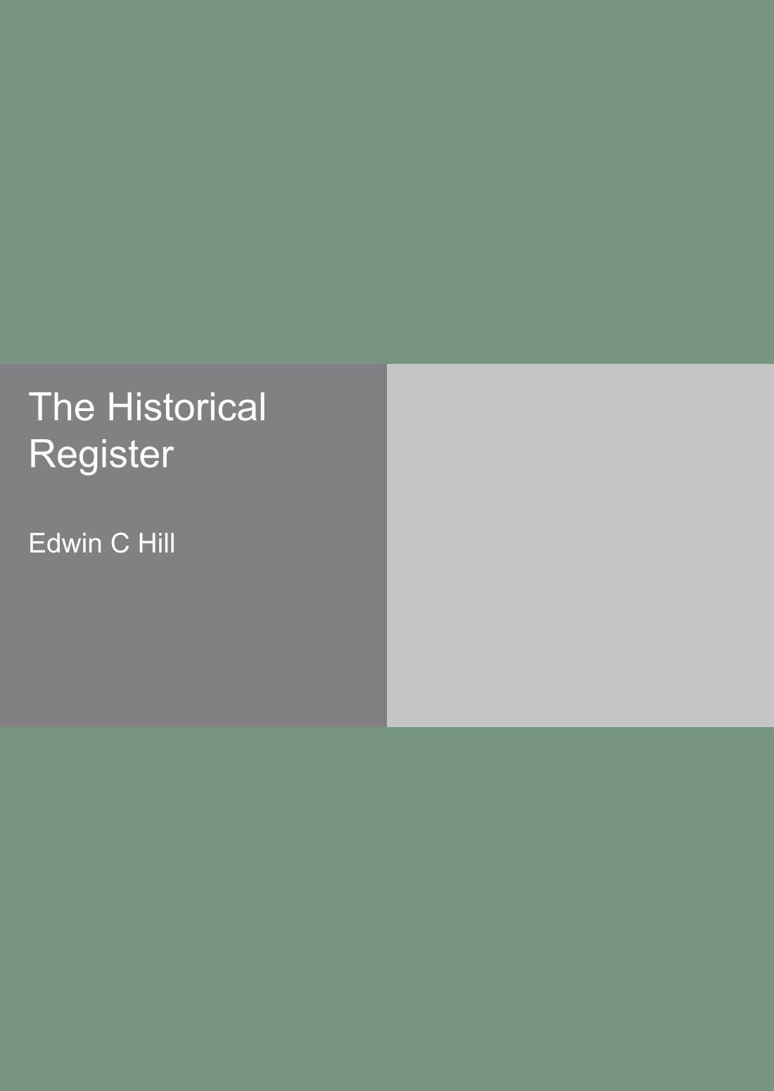 Download The Historical Register ebook