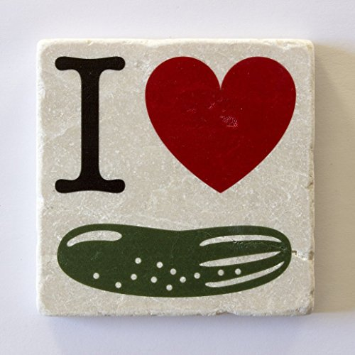 Handmade-Marble-Coaster-I-Heart-Pickles-coasters