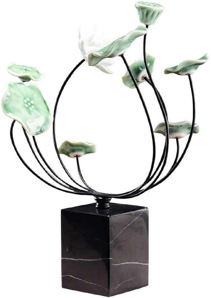 取得 金属装飾工芸品装飾クリエイティブデスク装飾インテリア装飾大理石装飾8 * 8 * 35cm 日