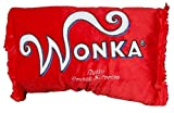 Willy Wonka Red Nutty Crunch Surprise 20''x 12'' Plush Pillow