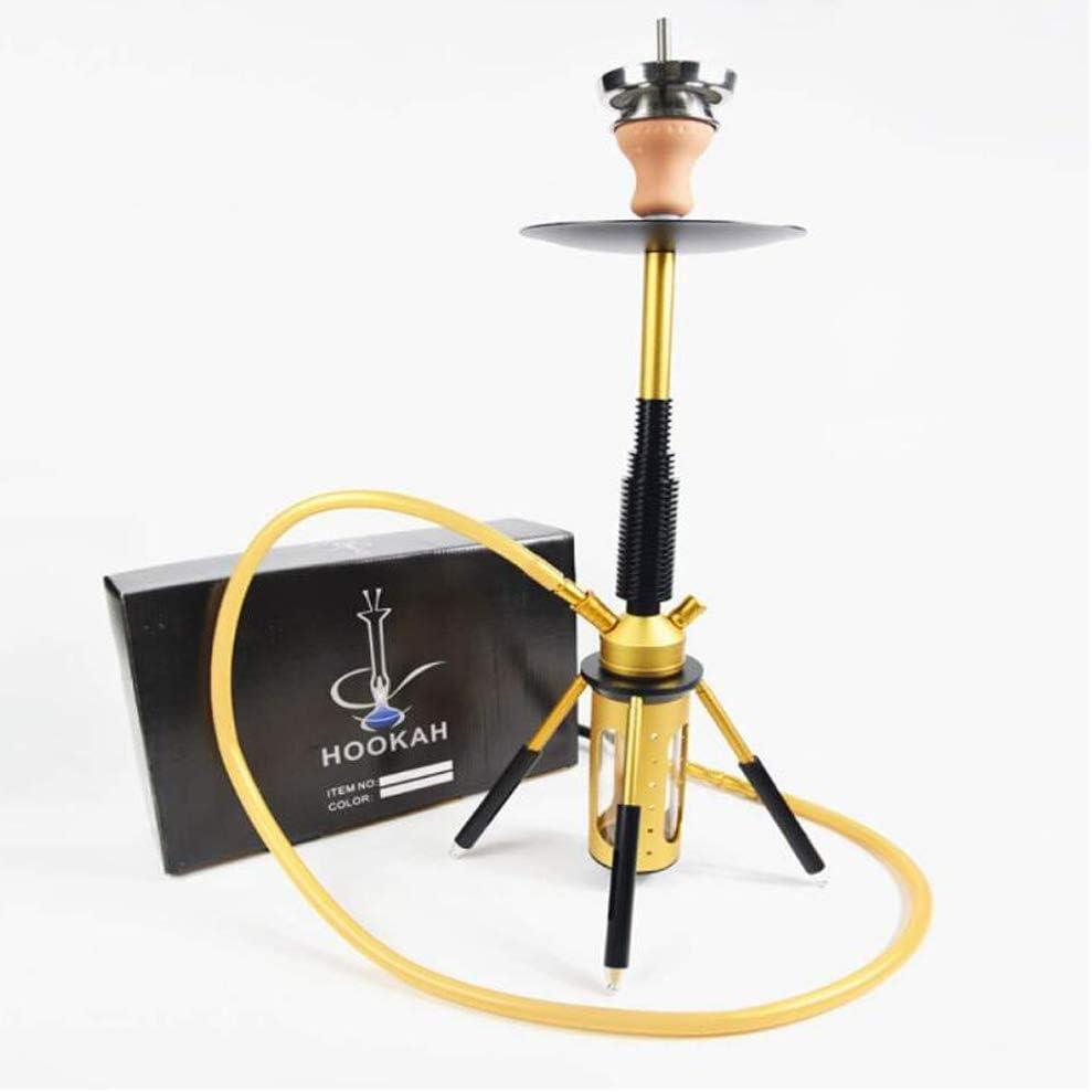 CJCJ-LOVE Pipa de Agua, de la Manera Creativa Pipa de Agua árabe con Accesorios de Carbono Disco Copa de Silicona de Silicona Fumador Fumar Marihuana de la Manera Creativa Pipa de Agua,A