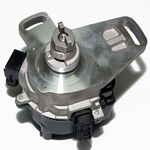 Turbo Distributor Rotor (Ignition Distributor for 92-96 Camry 5SFE Celica MR2 2.2L 4CYL fits 1905074010 w/Cap & Rotor 19050-74040 19050-74070 19050-74010 1992-1996 5SFE Camry Celica GT MR2 2.2L 4CYL D5SFE D9076 DST77429)