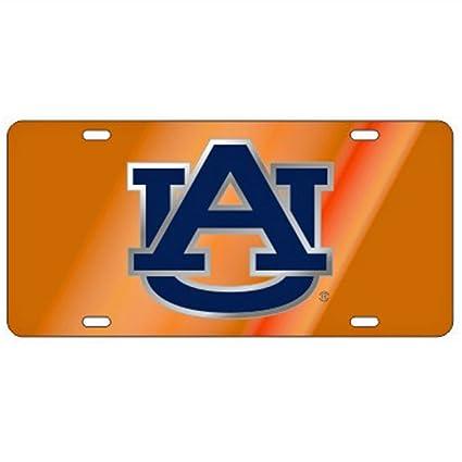 AU AUBURN TIGERS Laser Cut//Inlaid License Plate Car Tag Licensed NCAA
