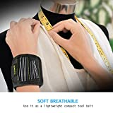 Monokuchi Magnetic Wristband,Adjustable Strong