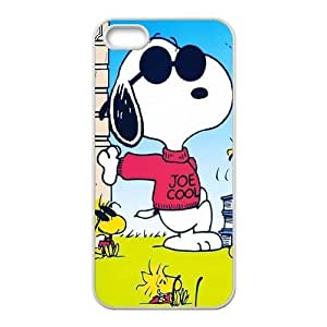 iPhone 5S Case, iPhone 5 Case, Snoopy TPU Fashion Case for iPhone 5S and iPhone 5 Cover Screen Protector